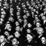 Kino Publikum mit 3D Brillen