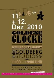 Weihnachtsmarkt im Goldberg Studios München
