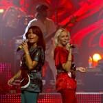 Sängerin Katja und Camilla