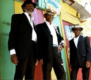 The Jolly Boys heitzen im Ampere mit Latin Raggae und Ska die Bühne auf
