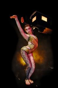 Alba, die Schlangenfrau, Tiger Lillies Freakshow im Prinzregenten Theater