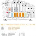Hallenplan Internationale Handwerksmesse, garten München, Metall München, Münchner Autotage