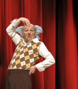 Clowns im Prinzregetentheater