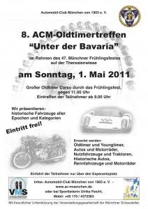 ACM-Oldtimertreffen auf der Theresienwiese