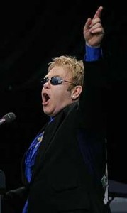 Elton John live in der Olympiahalle, Mnchen