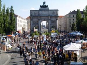 Streetlife-Festival in der Ludwig- und Leopoldstraße, München