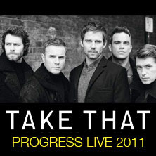 Take That live in der Olympiahalle, Mnchen