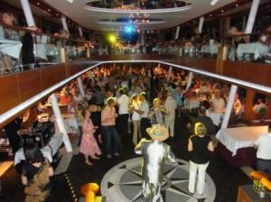 Die goldene und musikalische Traumschiff vom Starnberger See