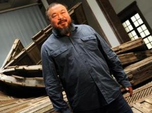 Englische Diskussion im Haus der Kunst, München anlässlich des Falls Ai Wei Wei