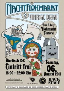 Nachtflohmarkt Free & Easy Edition im Backstage München