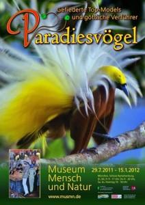 Vogelausstellung im Museum Mensch und Natur München