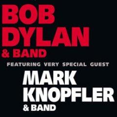 Bob Dylan und Mark Knopfler live in der Olympiahalle München