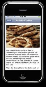 Die Wies'n App erklärt die Brezn
