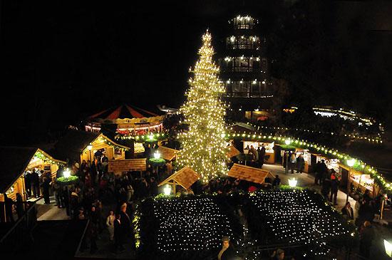 Weihnachtsmarkt Englischer Garten