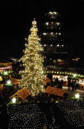 Weihnachtsmarkt Am Chinesischen Turm.Weihnachtsmarkt Am Chinesischen Turm Der München Blog