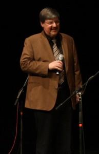 Alfons Schweiggert bei der Verleihung des Großen Karl Valentin Preises 2010