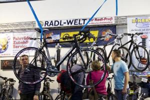 Auf der Messe f.re.e. finden Fahrrad Freunde ein großes Angebot