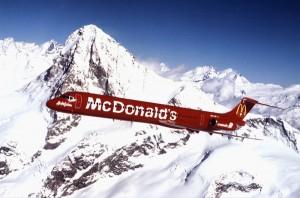 Die Flugwerft Schleißheim präsentiert die Sonderausstellung Kunst und Werbung an Verkehrsflugzeugen