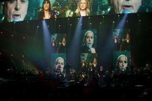Peter Gabriel macht mit seinem Programm New Blood auch in der Olympiahalle in München Halt