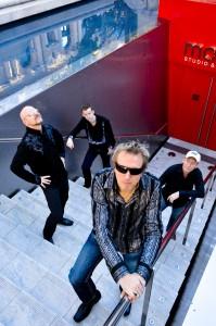 Wishbone Ash spielen im Freiheiz in München