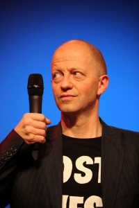 Martin Quilitz ist Moderator der Varieté-Show Quilitz im GOP Varieté-Theater München