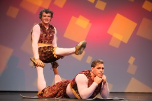 Das Duo Manducas bei Quilitz im GOP Varieté-Theater in München