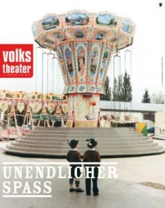 Das Münchner Volkstheater präsentiert Unendlicher Spaß in einer Inszenierung von Bettina Bruiner