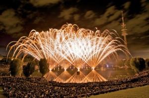 Der Münchner Sommernachtstraum präsentiert das Feuerwerk der Superlative