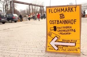 Flohmarkt am Ostbahnhof München