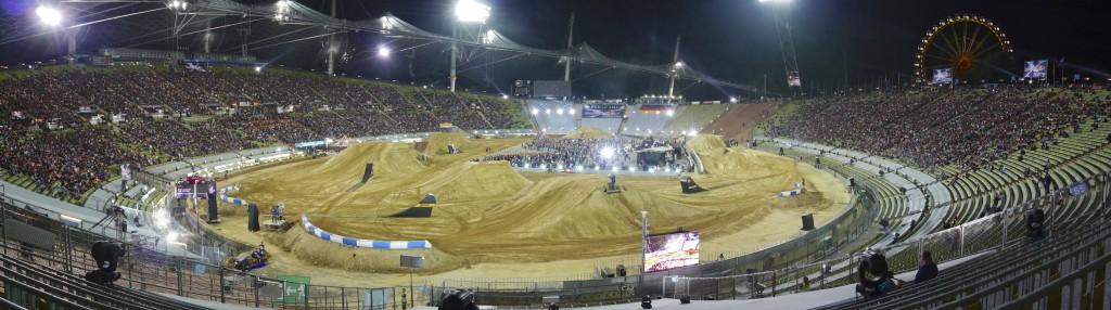 Die Stimmung kochte im Münchner Olympia Stadion