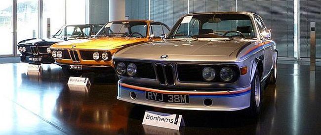 Drei legendäre BMW 3.0 CSL