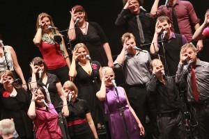 slowenische XL-Vocalgroup Perpetuum Jazzile