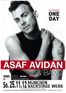 Der Musiker Asaf Avidan in München