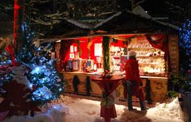 Der Weihnachtsmarkt in Bogenhausen