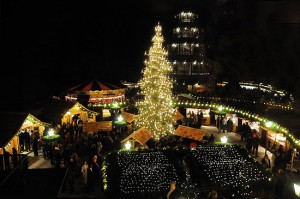 Weihnachtsmarkt am Chinesischen Turm