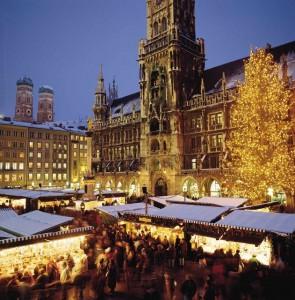 Der Christkindlmarkt am Marienplatz