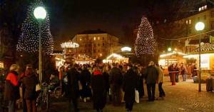 Der Weihnachtsmarkt am Weißenburger Platz