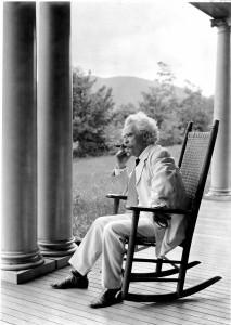 Der Autor Mark Twain
