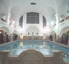 Das große Becken des Müllerschen Volksbades