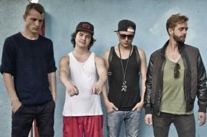 Lukas Graham und seine Band