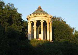 Der Monopteros im Englischen Garten