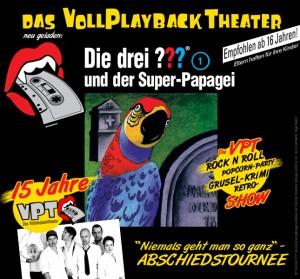 Vollplaybacktheater Die drei ???
