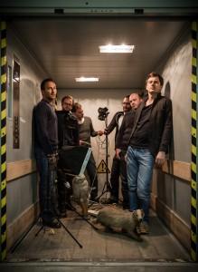 Die Schweizer Post-Rock-Band Leech