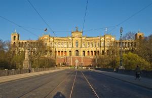 Der Bayrische Landtag befindet sich im Maximilianeum