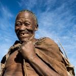 Buschmann in Namibia