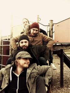 Die österreichische Rock-Band Steaming Satellites