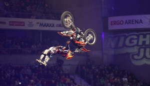 Freestyle Motorcross in der Olympiahalle