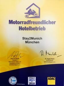 Motorradfreundliches Hotel
